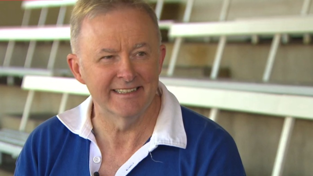 Opposition Leader Anthony Albanese says he's proud of his efforts during the COVID-19 pandemic