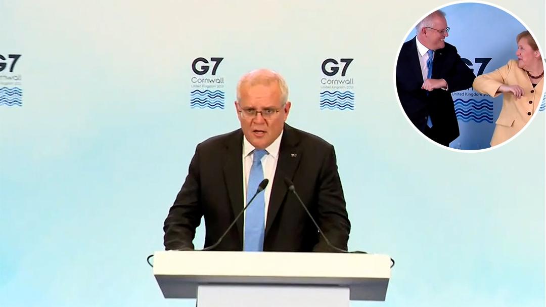 Scott Morrison praises G7 summit outcomes