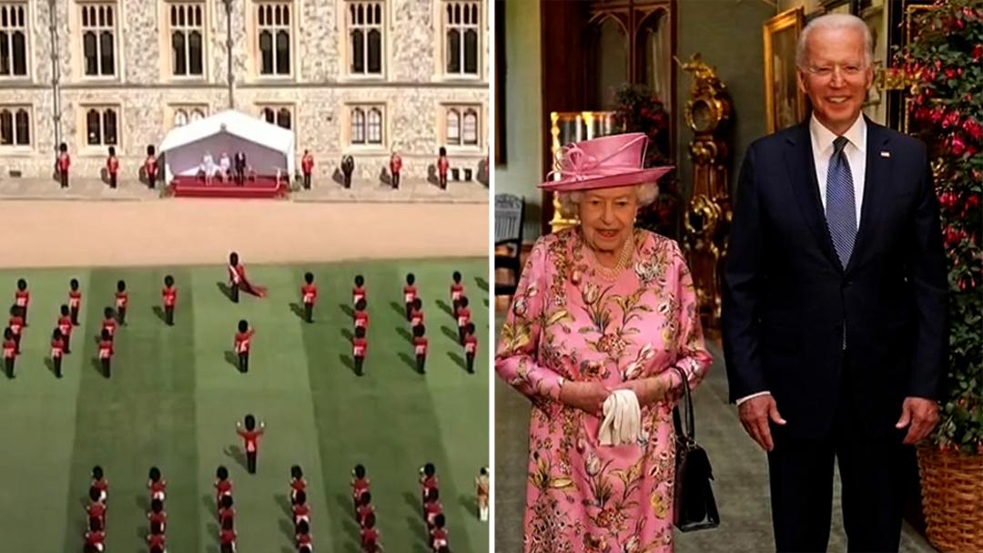 Queen Elizabeth hosts Joe and Jill Biden at Windsor Castle