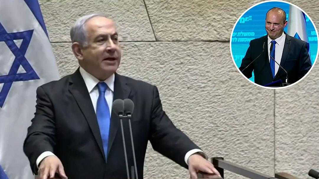 Benjamin Netanyahu's 12-year reign as Israeli Prime Minister ends