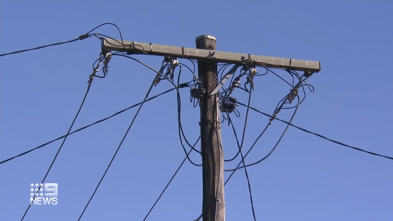 Brisbane family want power pole moved from property
