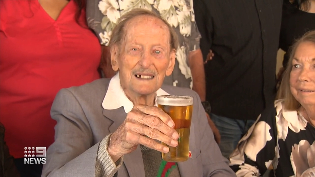 Former Japanese POW turns 100 years old