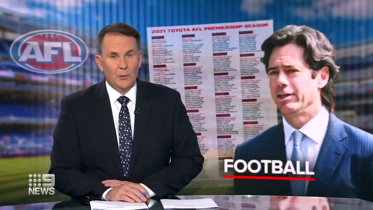 AFL forced into another fixture re-shuffle