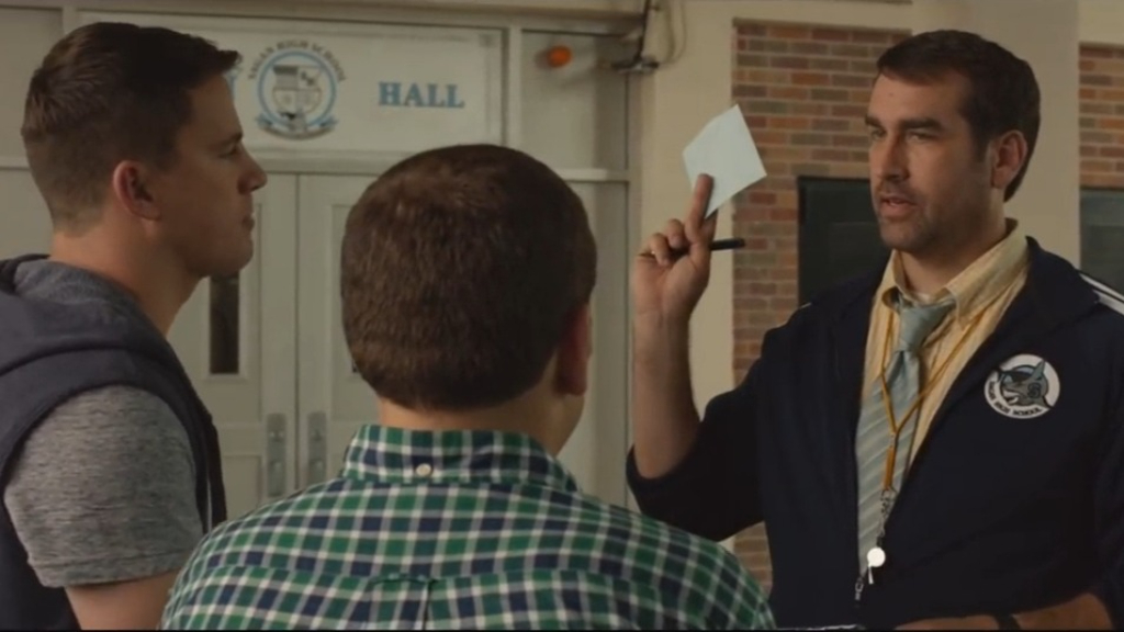 Rob Riggle starred as Mr. Walters in 21 Jump Street