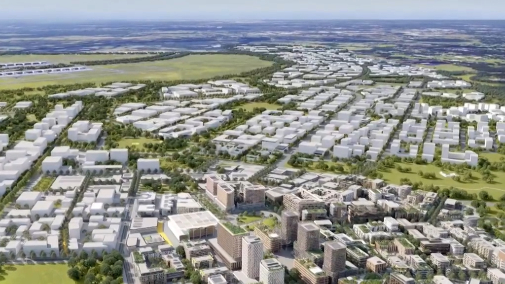 Billion-dollar investment into Badgerys Creek hub