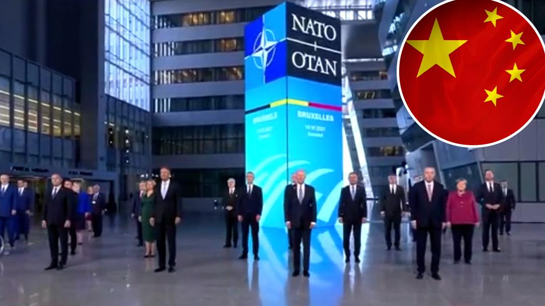 China hits back at NATO statement