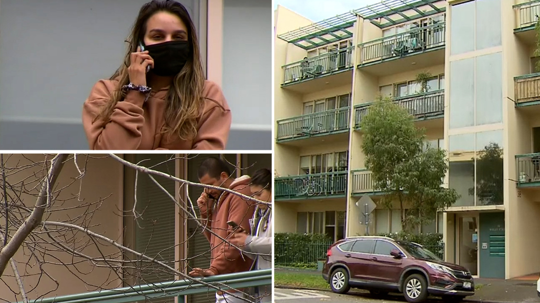 Melbourne townhouse residents forced into lockdown