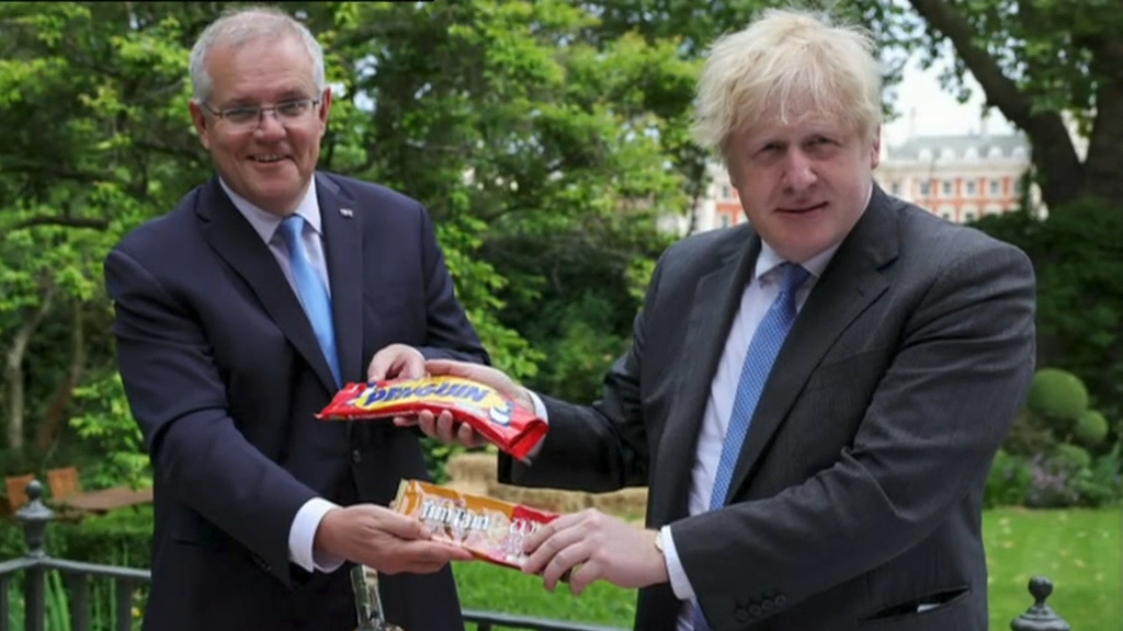 Australia and Britain seal a free trade deal