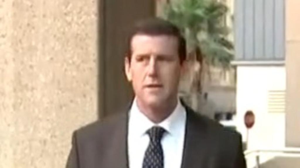 Ben Roberts-Smith emotional in court.