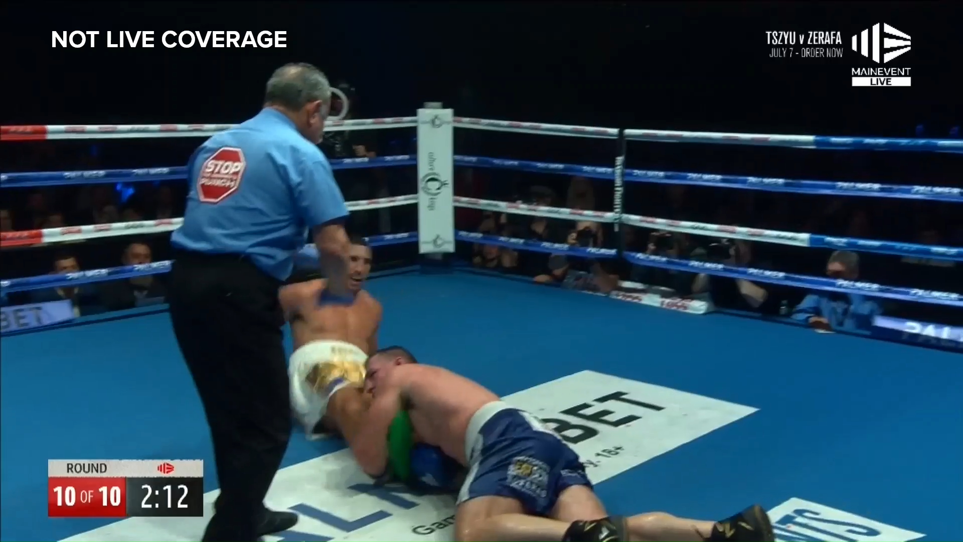 Gallen drops Huni with tackle