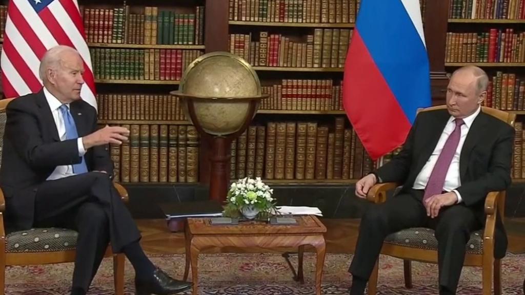 Joe Biden and Vladimir Putin end summit talks
