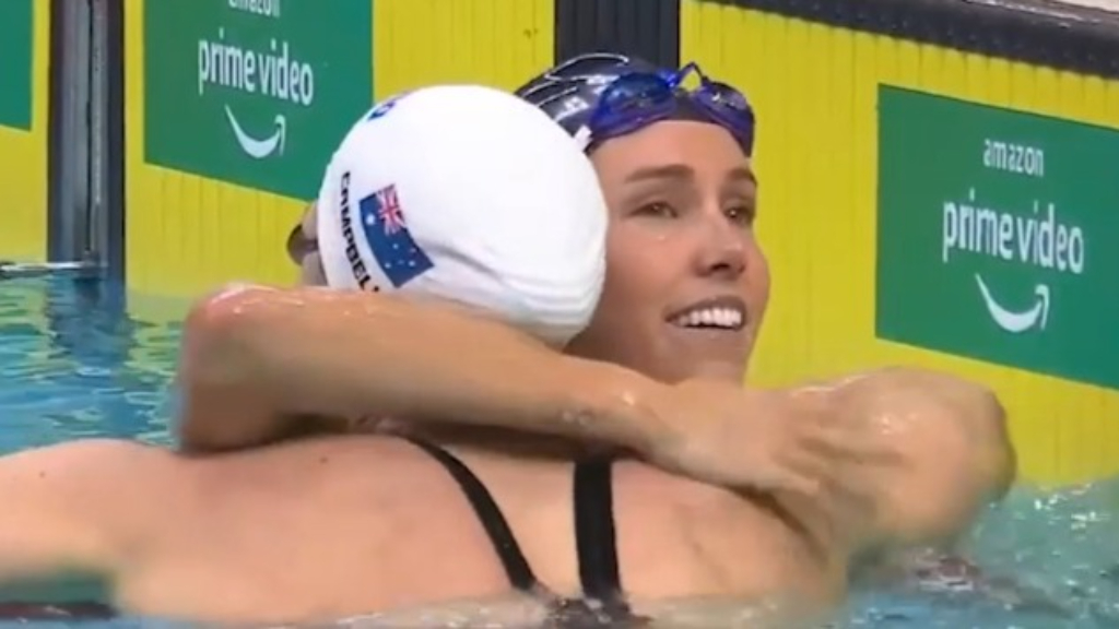 McKeon pips Campbell in 100m freestyle final