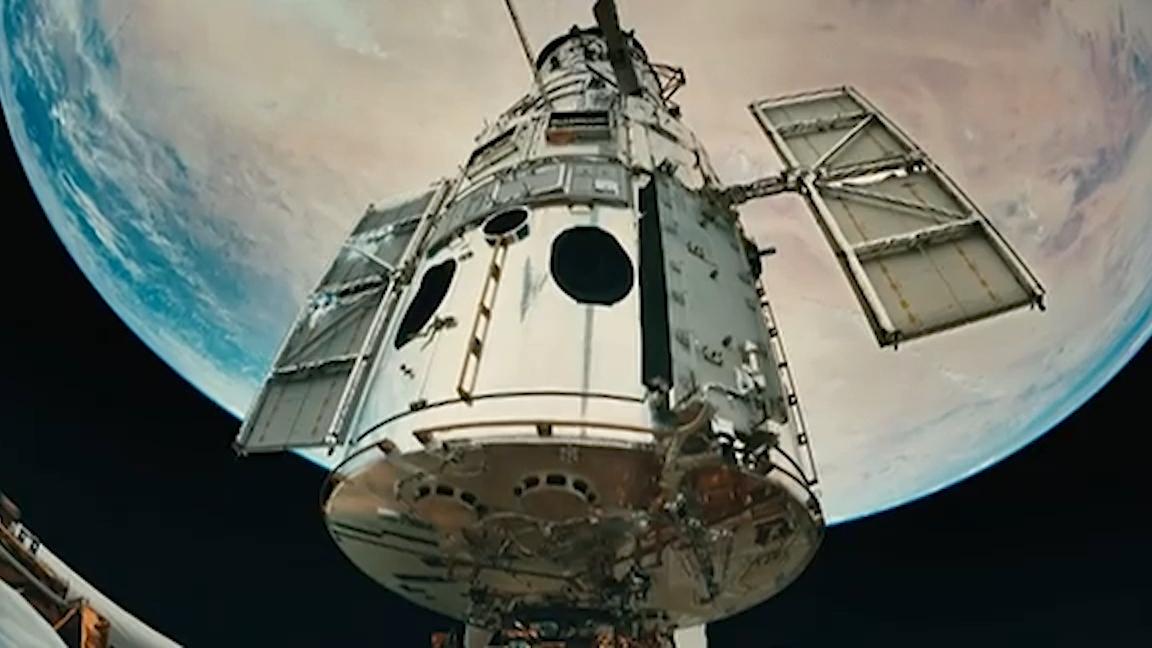 Hubble Telescope serviced