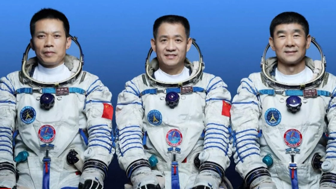 Meet the three Chinese astronauts going into space
