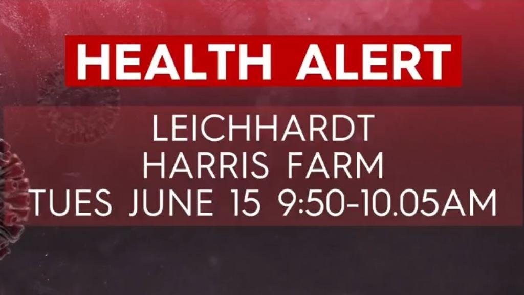 Leichhardt supermarket added to exposure site list