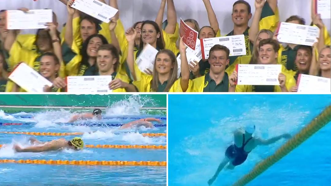 Australia Swim team announced for Tokyo Games