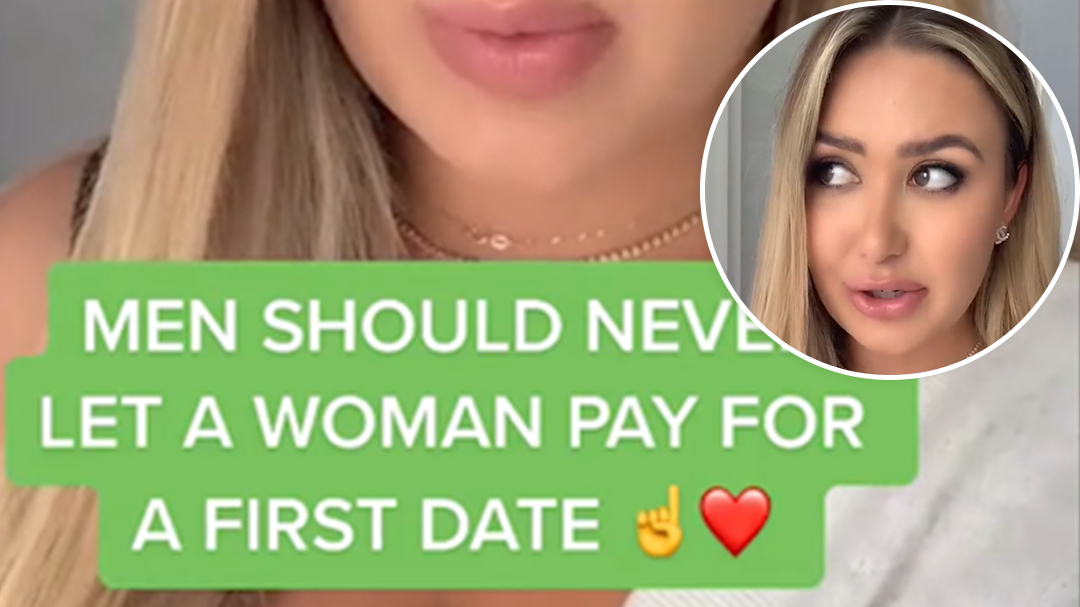 Dating advice: Woman insists men should never split the bill on a first date