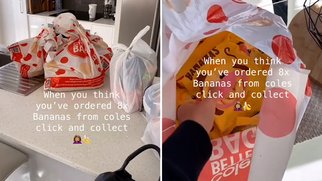 Woman reveals Coles 'Click and Collect' online shopping fail