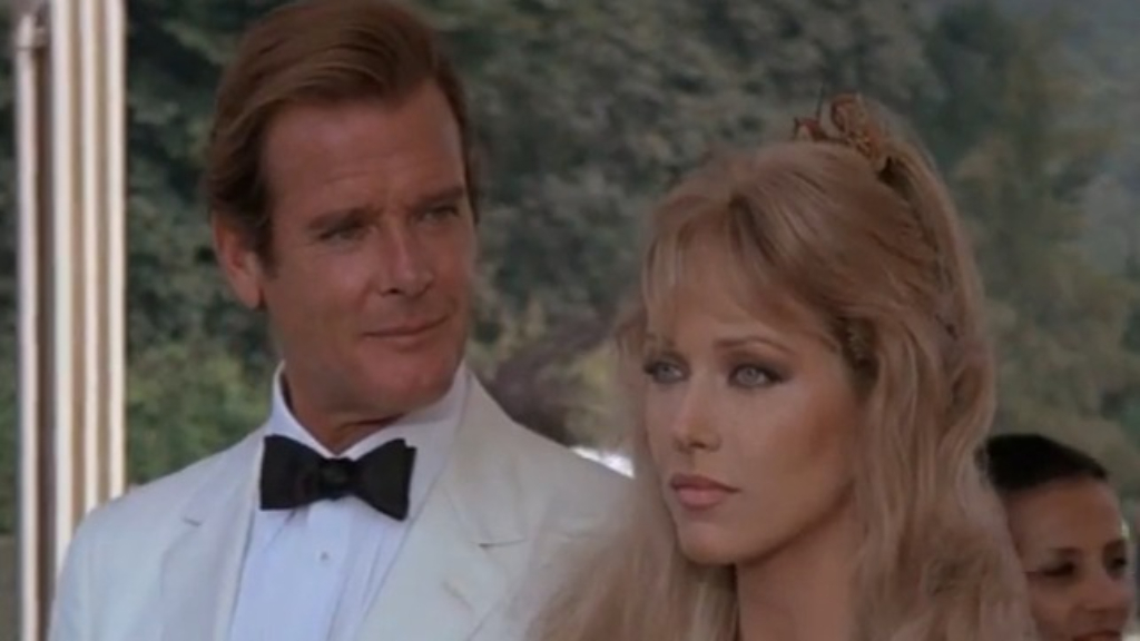 Tanya Roberts played Stacey Sutton in A View To A Kill