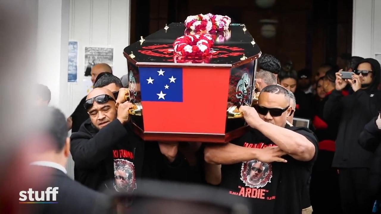 Bikies farewell Head Hunter gang member in NZ