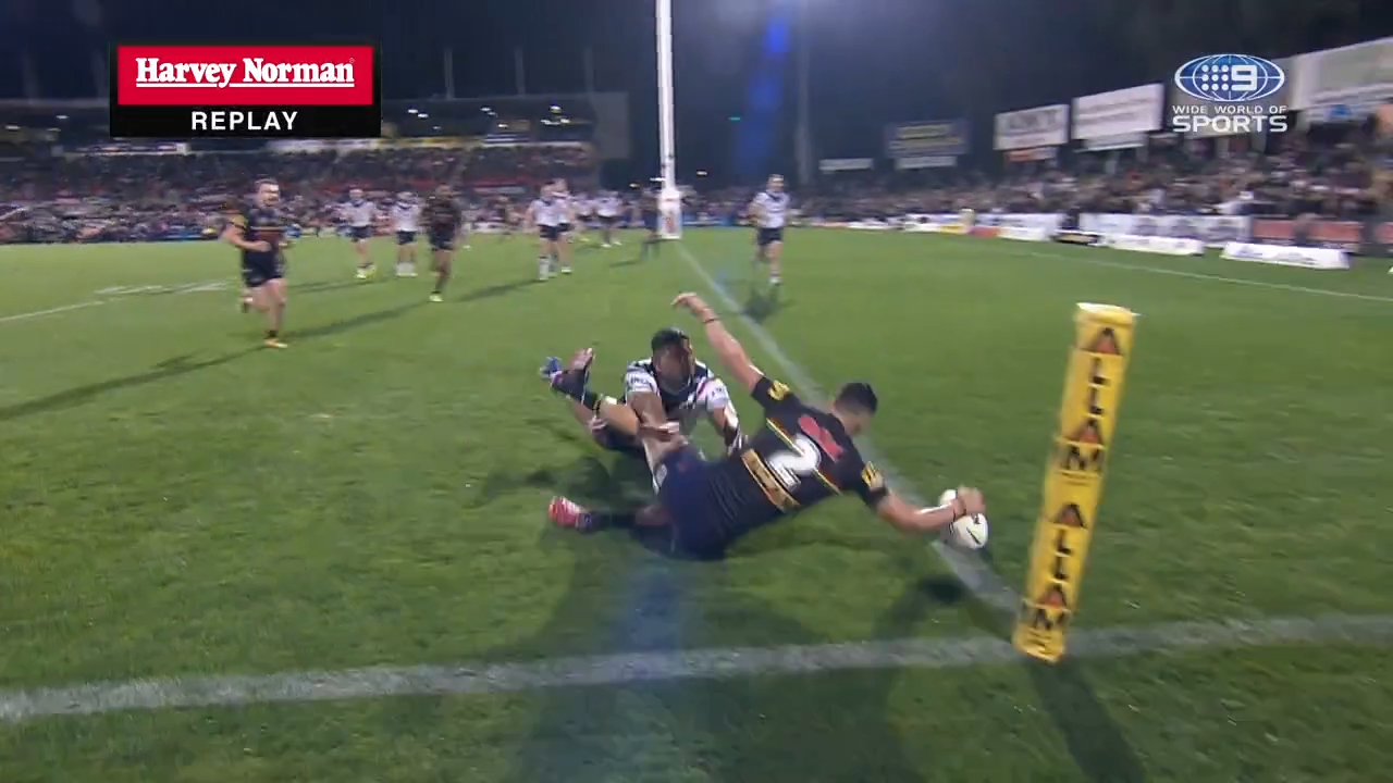 Try-scoring freak snags another
