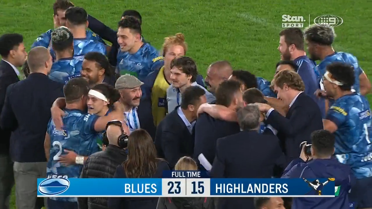 Blues end 18 year drought