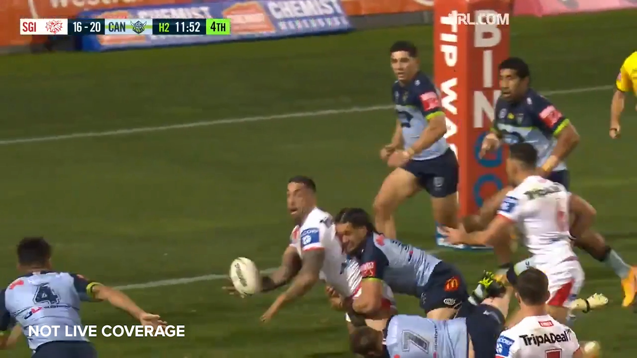 Vaughan sets up Norman try