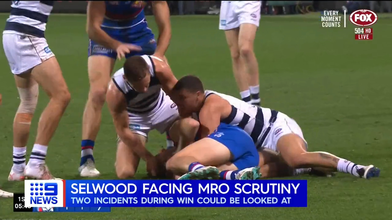 Selwood in hot water over two incidents