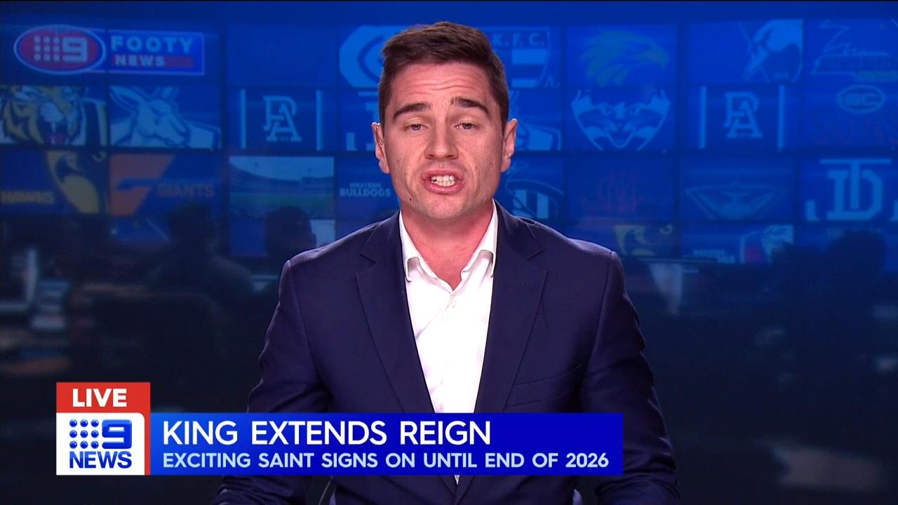King signs Saints extension