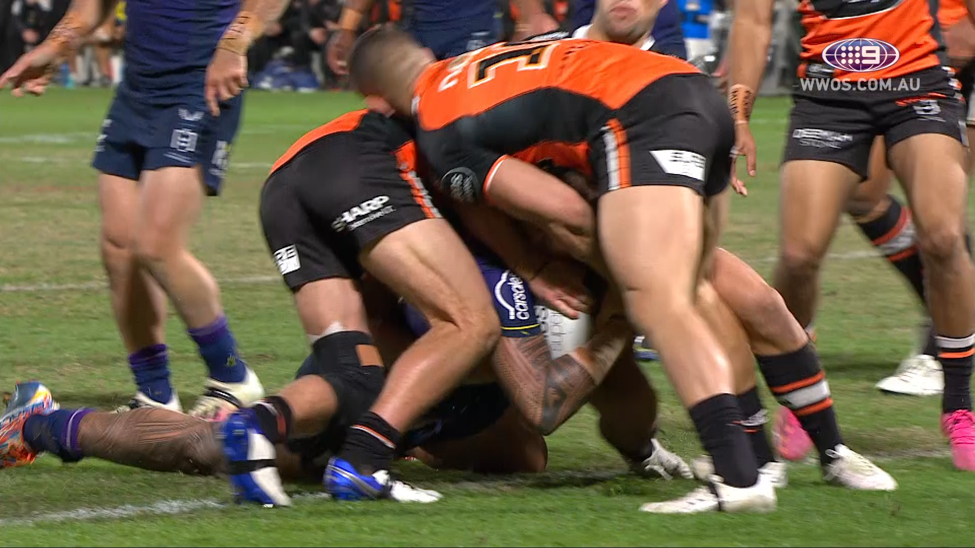 NRL Highlights: The Storm blowout the Tigers in historic fashion - Round 15