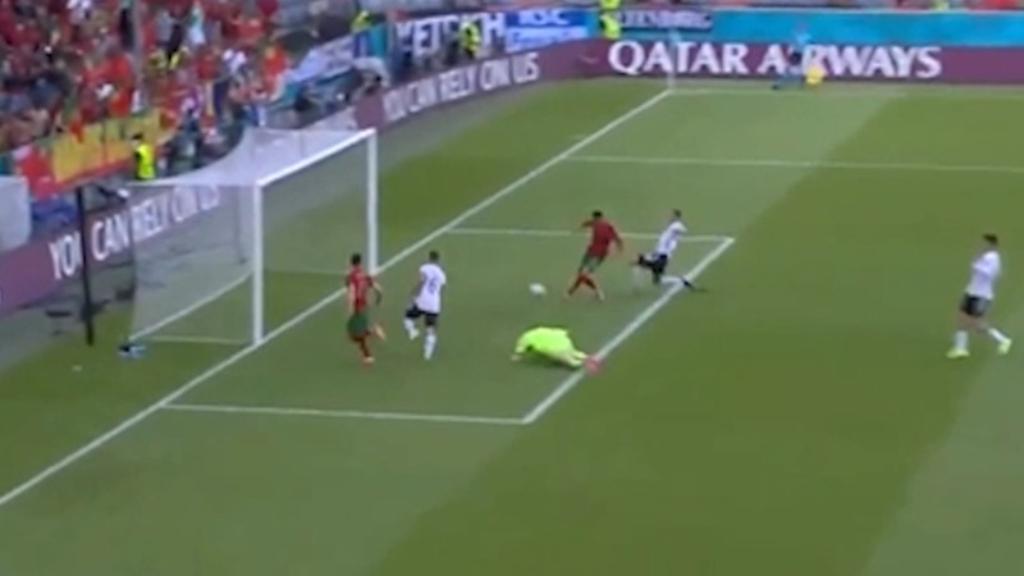 Ronaldo's lung-busting Euros goal