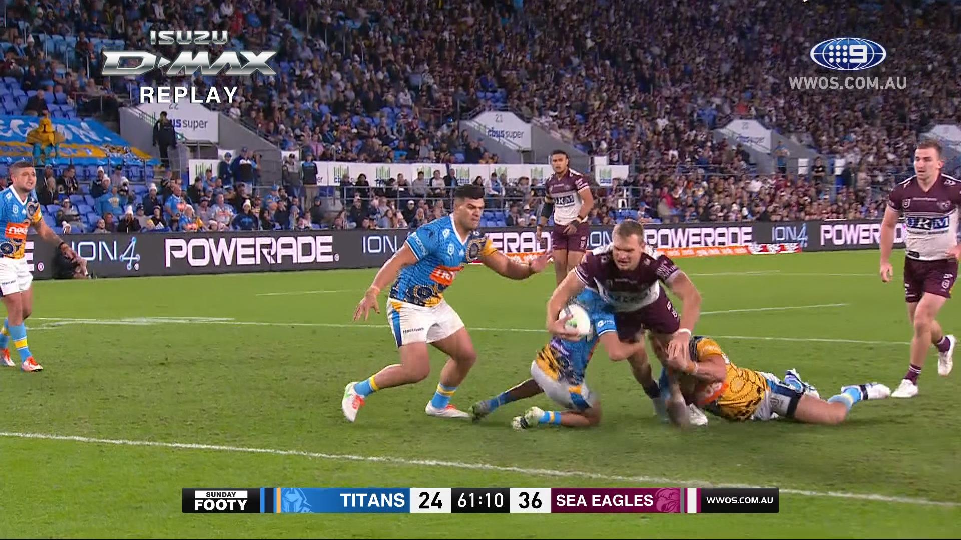 NRL Highlights: Sea Eagles hammer the Titans - Round 15
