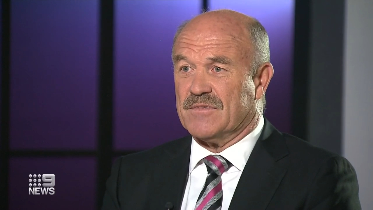 League legend Wally Lewis warns of potential eyesight loss