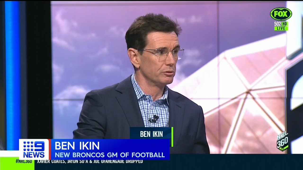 Ikin appointed Broncos boss