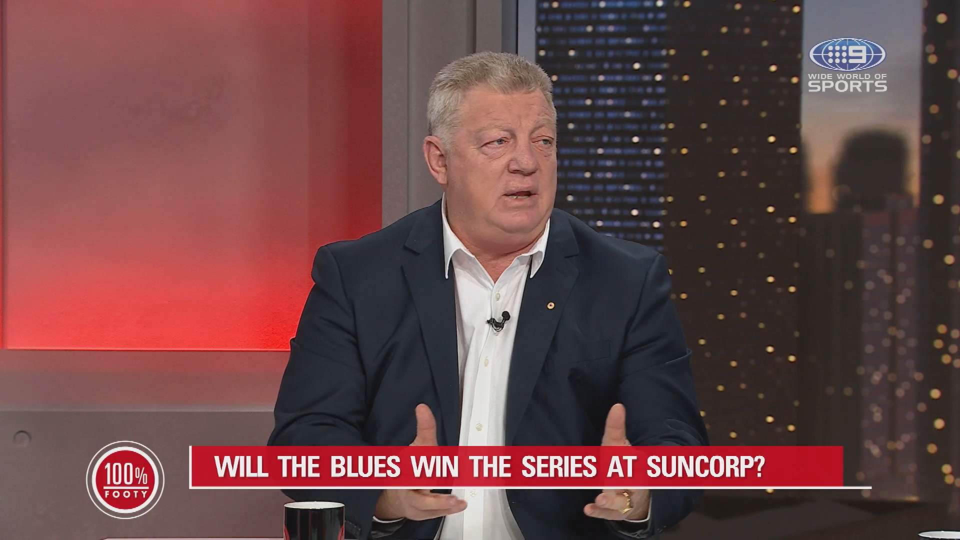 Blues icons insist Maroons must 'get down and dirty'