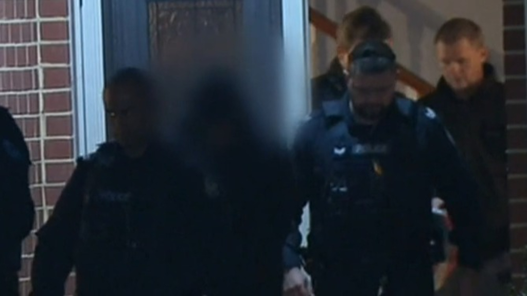 Three charged over alleged bikie home invasion