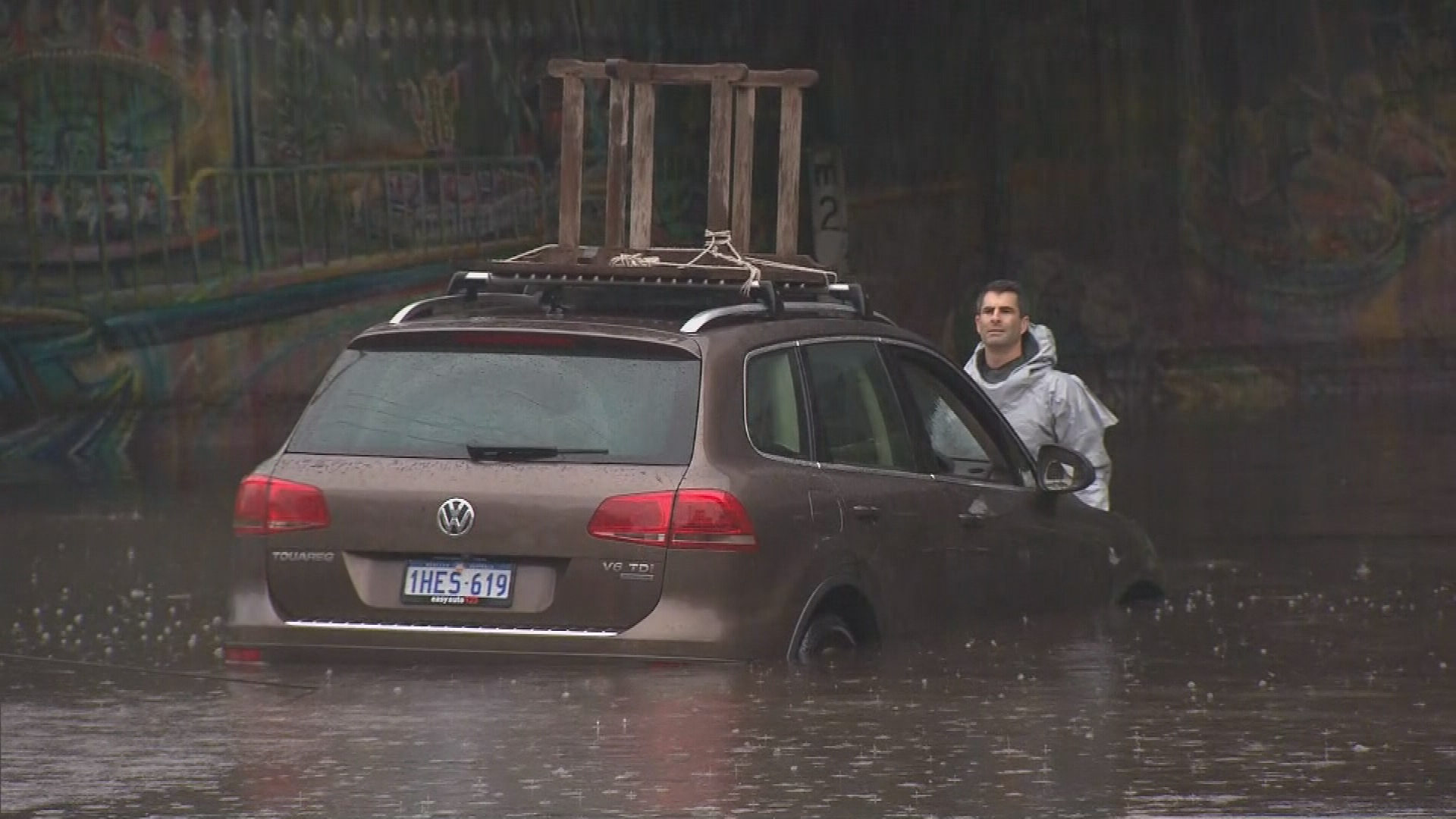 Perth hit by severe storms