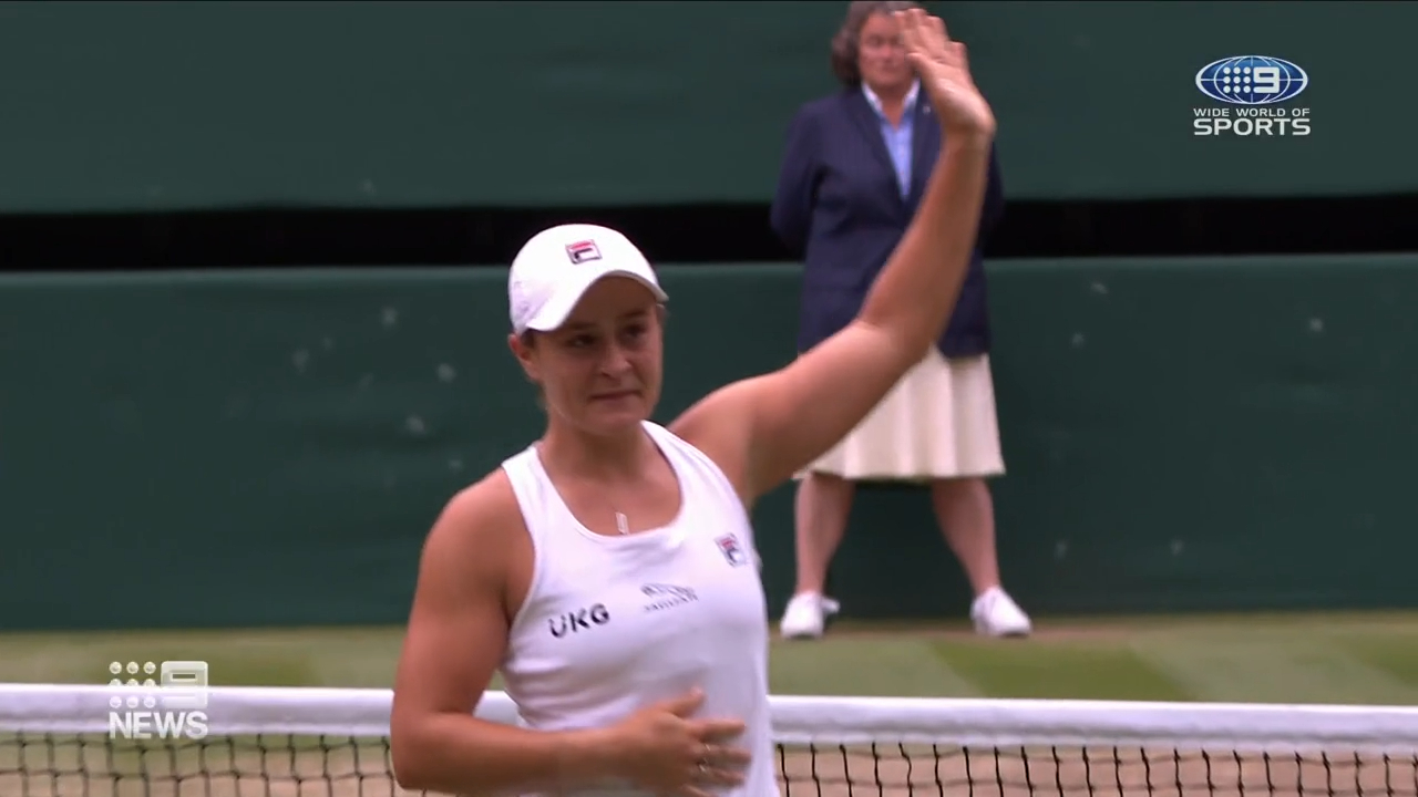 Ash Barty wins Wimbledon