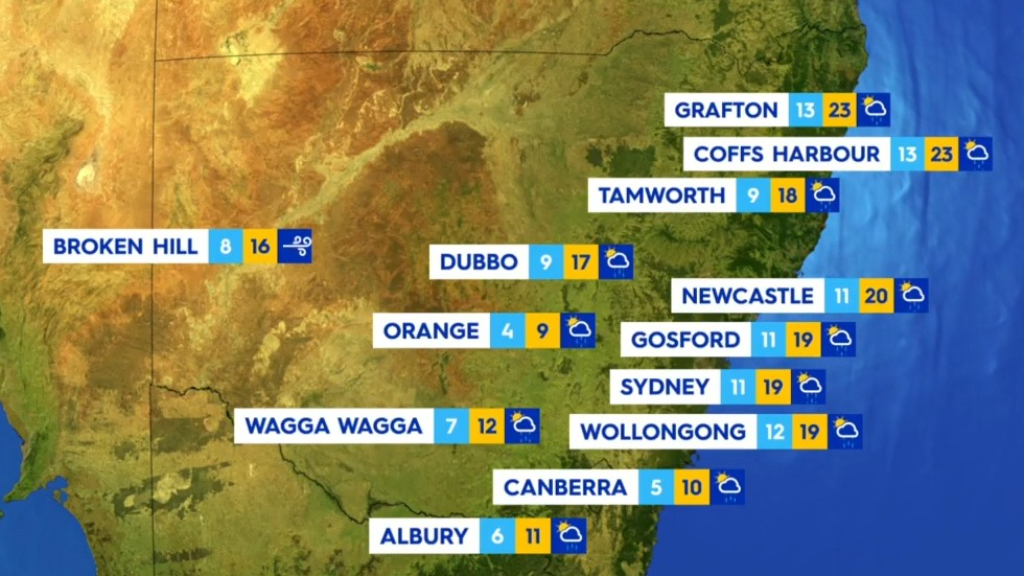 National weather forecast for Friday, July 16
