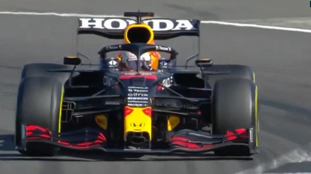 Verstappen wins historic F1 sprint pole