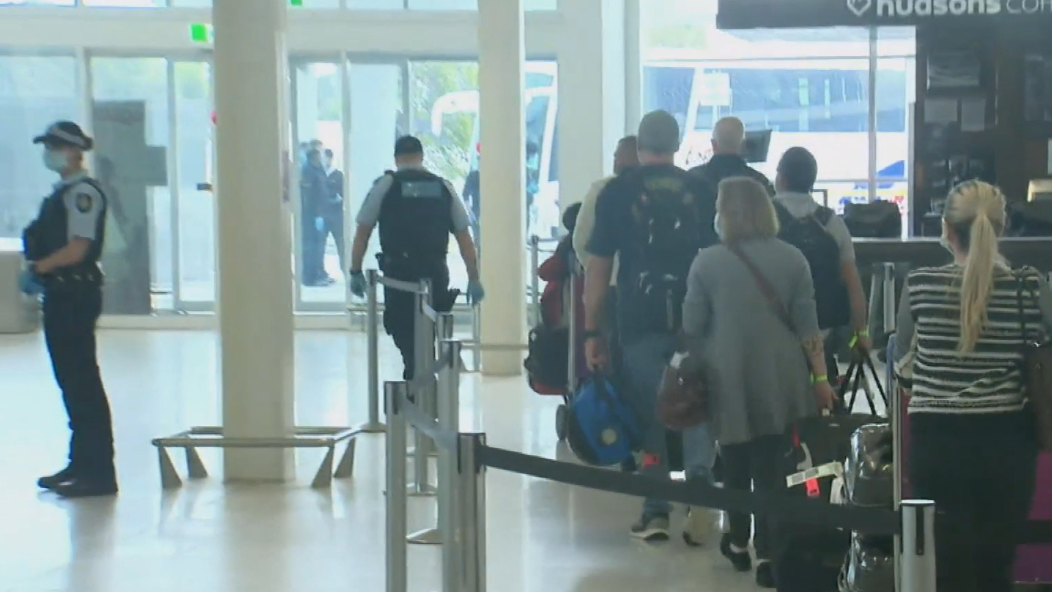 South Australia stops international flights