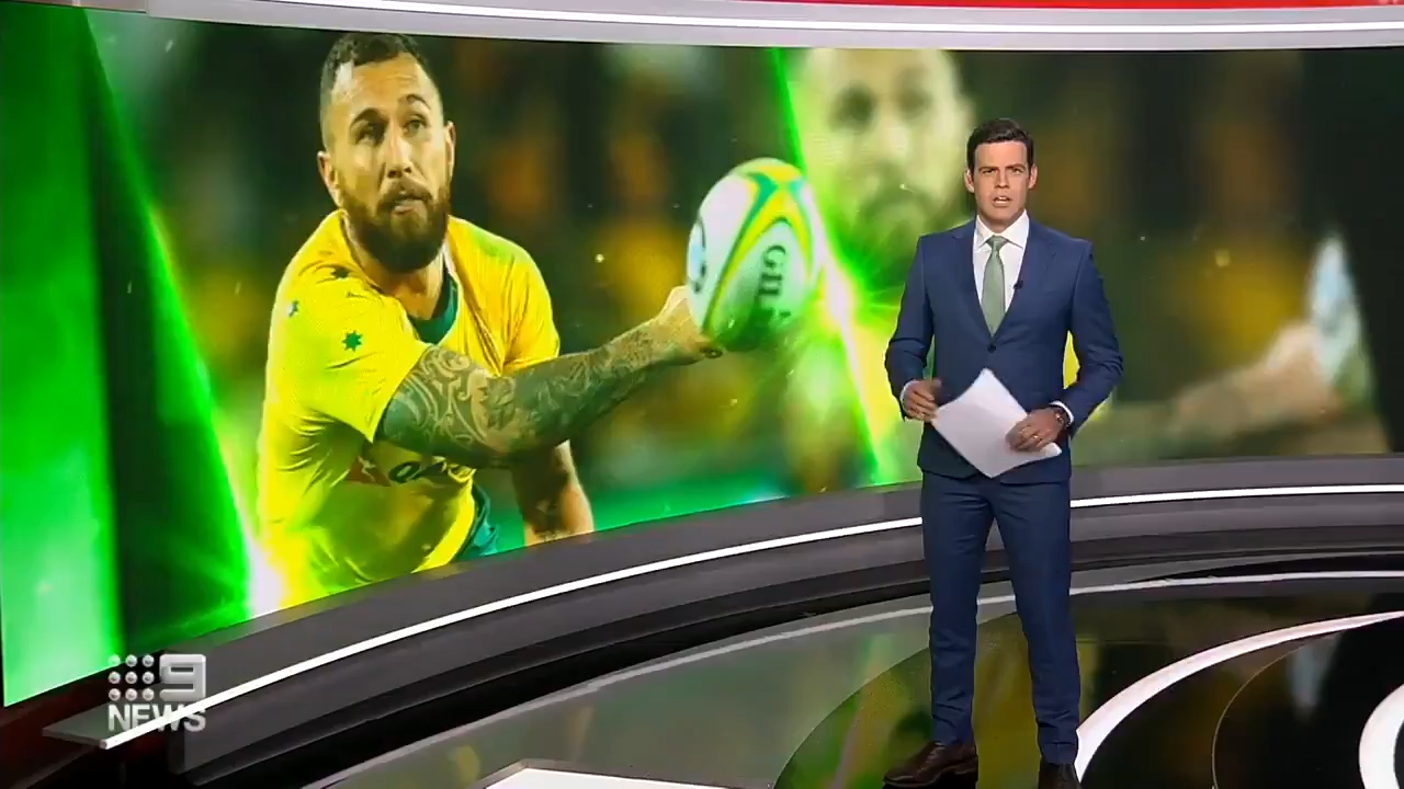 Cooper, Paia'Aua link up with the Wallabies
