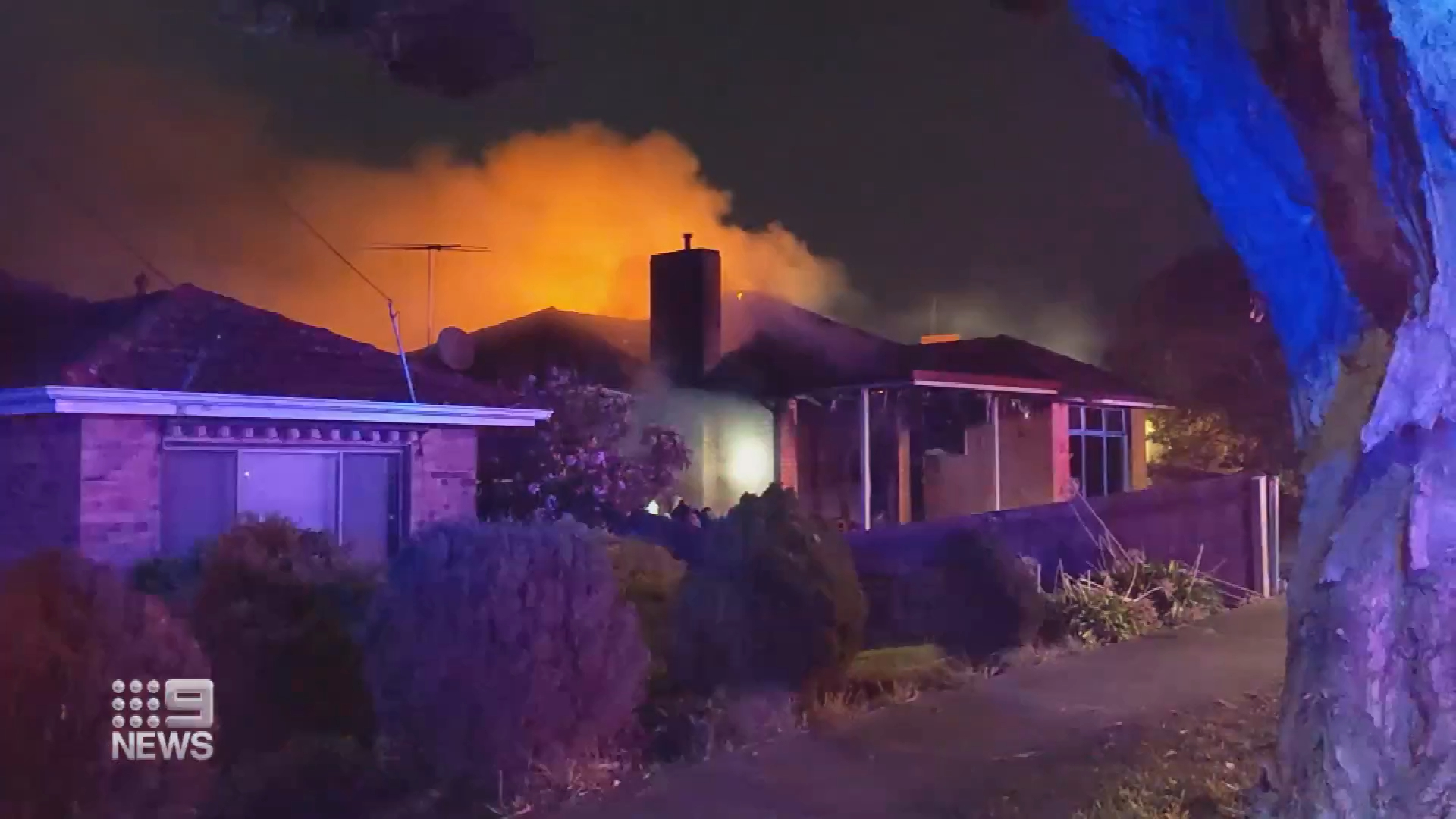 Four-year-old killed in a Melbourne house fire
