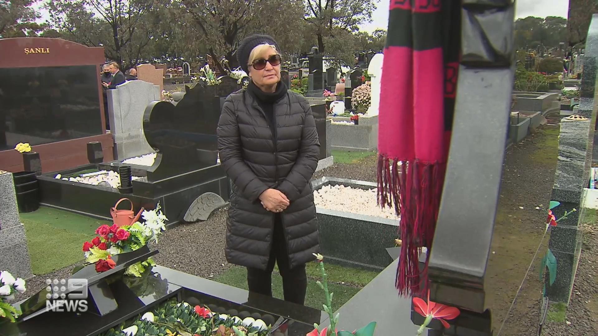 Melbourne cemetery vandalised