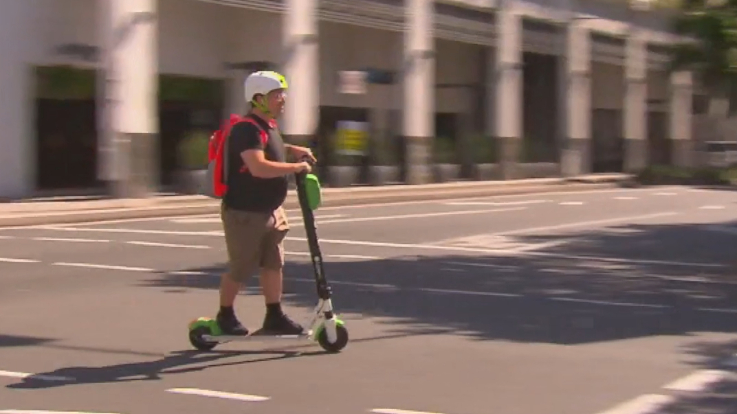 E-scooter company to rate safe riders and ban dangerous ones