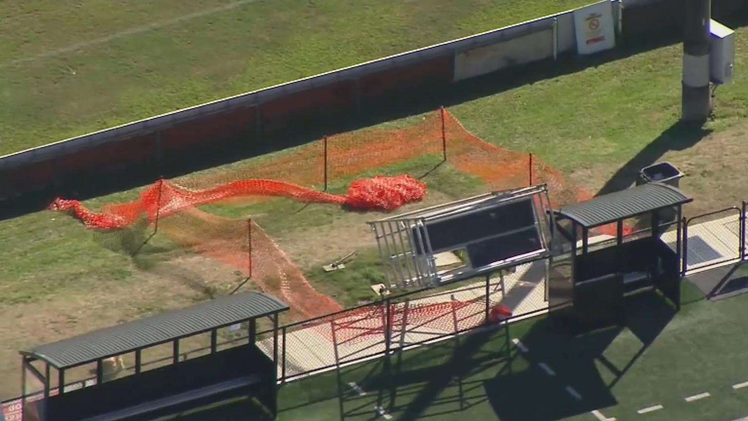 Brisbane father killed by falling soccer field scaffolding