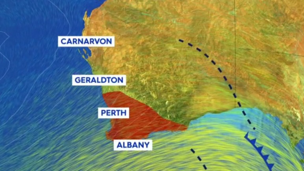Parts of Western Australia battered by destructive winds