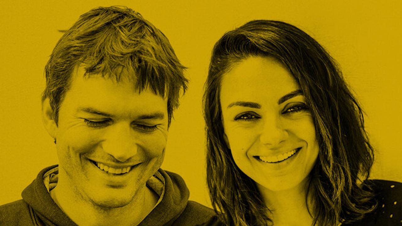 Ashton Kutcher and Mila Kunis on Armchair Expert Podcast