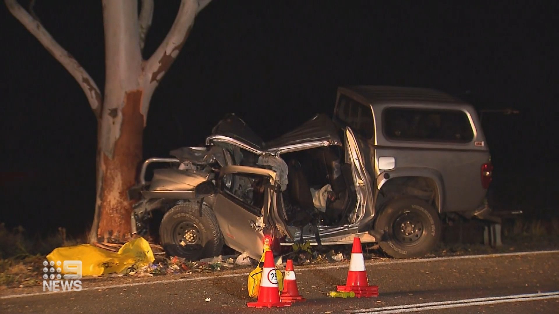 Two dead, boy fighting for life after horror crash in South Australia