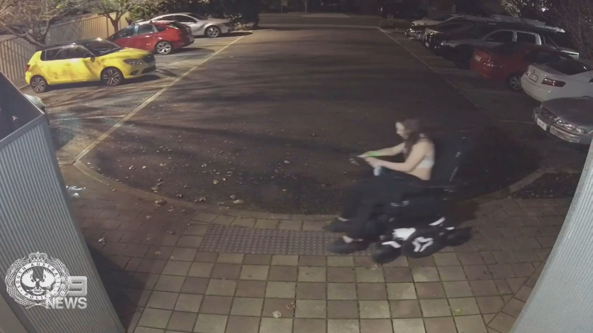 Thieves steal wheelchair in Adelaide